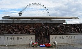 Battle of britain statue. In London Stock Images