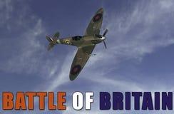 Battle of Britian scene Royalty Free Stock Photo
