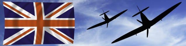 Battle of Britian scene Stock Photography