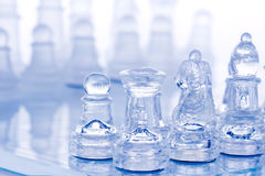 Battle chess Stock Photography