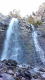 Battle Creek Falls & Rocks royalty free stock image