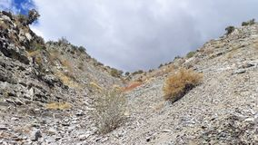 Battle Creek kanjon i höst Royaltyfri Bild