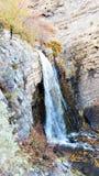 Battle Creek tombe en automne Images stock