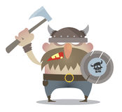 Battle cry of the Vikings Stock Images