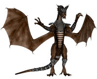 Battle dragon Stock Images