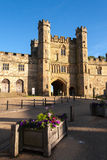 BATTLE, EAST SUSSEX/UK - JUNE 30 : Evening sun on Battle Abbey i Stock Photography