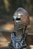 Battle Gear. Armor on a stand awaiting battle Royalty Free Stock Images