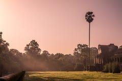 Battle of the Gods - Angkor Wat Royalty Free Stock Photos