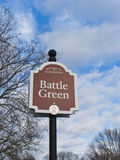 Battle Green. The Revolutionary War in Lexington Battle Green. It is here the Revolutionary War started in April 4, 1775 Stock Photos