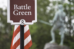 Battle Green Stock Photography