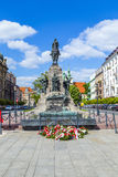Battle of Grunwald Monument in Krakow Royalty Free Stock Photos