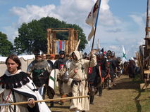 Battle of Grunwald Stock Image