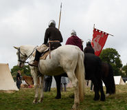 1066 Battle of Hastings. Re-enactment of the battle of Hastings in England, organised by English Heritage royalty free stock images
