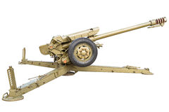 Battle howitzer Stock Images