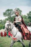 Battle of Klushino. WARSAW - July 04:  Battle of Klushino (KLUSZYN) 1610 reenactment - July 04, 2010 in Warsaw, Poland Stock Photography