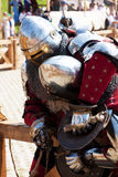 Battle of knights Stock Images