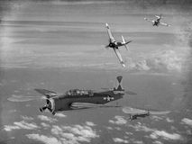 Battle of Midway Stock Images