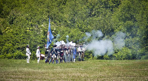 Monmouth Battle Scene 10 Royalty Free Stock Photo