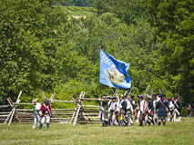 Monmouth Battle Scene 19 Royalty Free Stock Photography