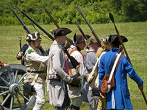 Monmouth Battle Scene 25 Stock Images