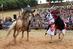 Battle of Moravia Royalty Free Stock Image