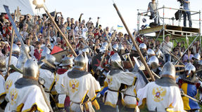 Battle of the nations festival Stock Photo