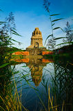 Battle of nations monument leipzig royalty free stock images
