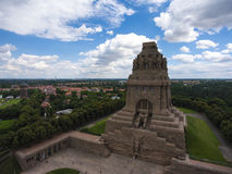 Battle of nations monument in Leipzig, Germany Royalty Free Stock Photo