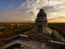 Battle of nations monument in Leipzig, Germany Royalty Free Stock Photos