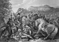Battle of Otterburn Royalty Free Stock Images