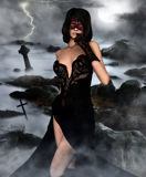 The battle priestess Royalty Free Stock Image
