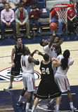 A Battle for Rebound by Wildcat Kevin Parrom Stock Photography