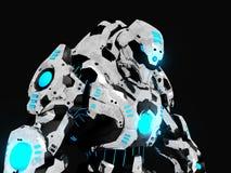 Battle robot royalty free illustration
