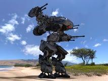 Battle robot Royalty Free Stock Image