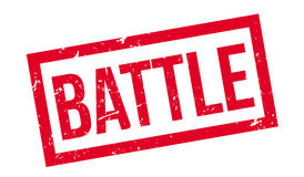 Battle rubber stamp Stock Photo