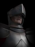Battle Scarred Knight Portrait Royalty Free Stock Photo