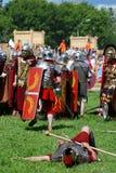Battle scene. Stock Photography