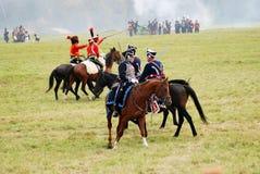 A battle scene. Stock Photo
