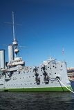 Battle ship Royalty Free Stock Photo