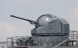 Battle ship canon Royalty Free Stock Photography