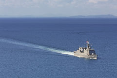 Battle ship Stock Images