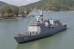 Battle ship Royalty Free Stock Photos