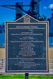 Battle Ship Texas. National Monument Houston stock photos