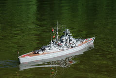 Battle ships Germen Royalty Free Stock Photos