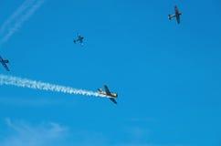 Battle in sky Stock Image
