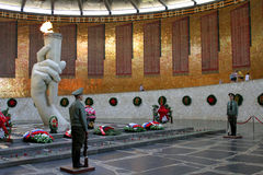 The battle of Stalingrad, the historical and memorial Museum-reserve. Mamaev Kurgan, may 2013 Royalty Free Stock Image