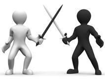 Battle Swords Stock Images