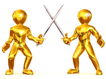 Battle Swords Royalty Free Stock Photos