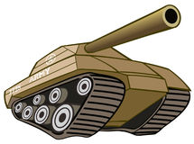 Battle Tank. Army Battle Tank camouflage war Stock Photo