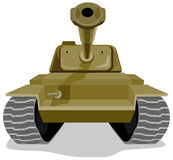 Battle tank Stock Photography